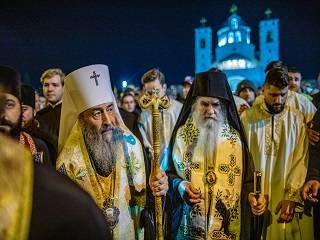 Митрополит Онуфрий рассказал о цели своего визита в Черногорию