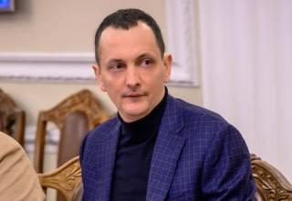 Координатор «Большой стройки» Голик показал карту Украины с отмеченными на ней объектами