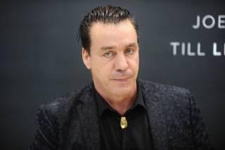 В киевском кафе замечен лидер группы Rammstein
