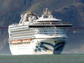 Коронавирус «пришвартовал» огромный круизный лайнер к американскому берегу. На судне есть и украинцы