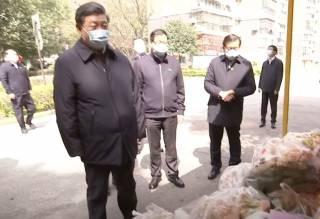 Лидер Китая прибыл в эпицентр коронавируса
