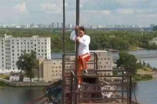 Известный американский актер снял экстремальное видео в Киеве и рассказал, за что любит наш город