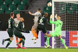 Лига Европы 1/8 финала: «Шахтер» на выезде «загрыз» немецких «волков»
