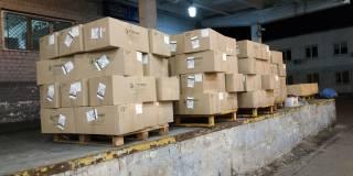 Из Украины в Саудовскую Аравию и Италию хотели вывезти полторы тонны медицинских масок