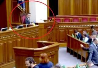 Новый министр экономики попытался занять место Зеленского в Верховной Раде