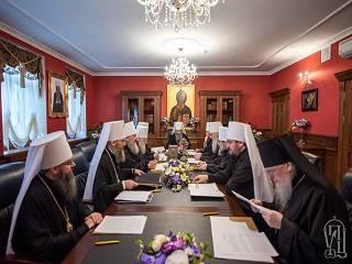 В УПЦ началось заседание Синода, который примет решение о деятельности Церкви в условиях пандемии коронавируса