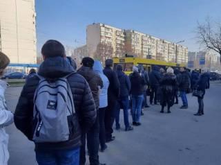 После начала карантина в Киеве и Одессе приключился транспортный коллапс