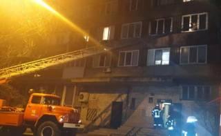Ночью в Киеве заживо сгорели люди