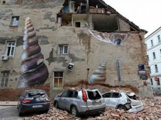 По столице Хорватии прокатилась серия разрушительных землетрясений ‒ есть жертвы