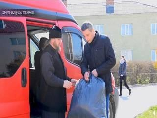 На Хмельниччине УПЦ передала в больницы 2 тыс защитных масок