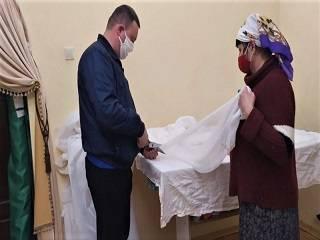 На Полтавщине УПЦ шьет защитные маски
