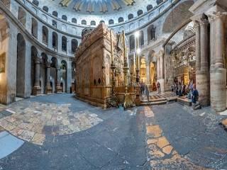В сети доступен виртуальный 3D тур по Храму Гроба Господня