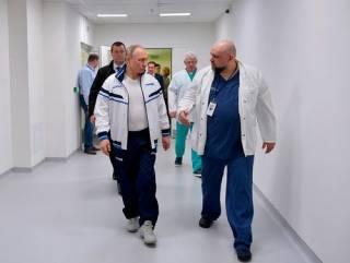 У врача, контактировавшего с Путиным, выявили заражение коронавирусом