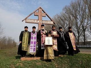 На Одещине священники УПЦ совершили крестный ход с частицей мощей Луки Крымского