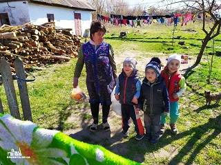На Одещине православные раздали продукты и средства индивидуальной защиты