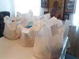 В Херсоне УПЦ организовала адресную доставку благотворительной помощи малообеспеченным семьям