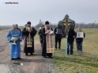 На Николаевщине православные совершили крестный ход с молитвой об избавлении от пандемии