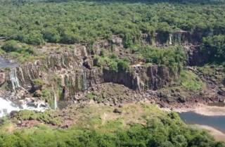В Южной Америке пересохли знаменитые водопады