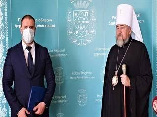На Полтавщине УПЦ передала в медицинские учреждения 3 тыс тестов на коронавирус