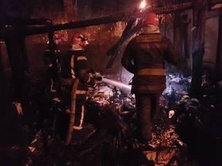 Пожар на свалке в Киеве: погибли люди
