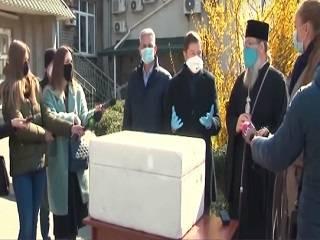 В Запорожье УПЦ передала в медицинские учреждения тесты на коронавирус