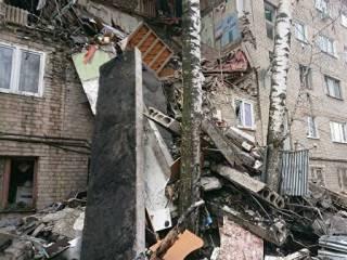 В Подмосковье взрывом «разнесло» целый подъезд многоэтажки
