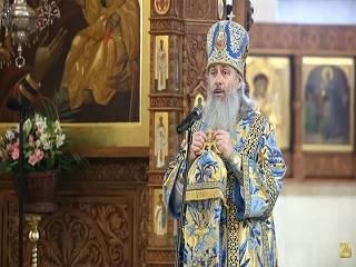 Наместник Святогорской лавры напомнил, что Христос говорил ученикам «не бойтесь»