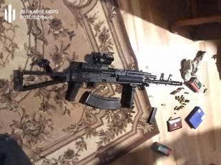 В ходе обыска у Чорновол нашли оружие и боеприпасы