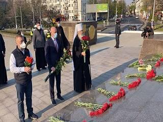 В Одессе православные молились в 76-ю годовщину освобождения города от немецко-фашистских захватчиков