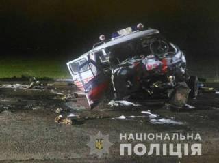 В Харькове «скорая» угодила в лобовое ДТП и превратилась в груду металлолома