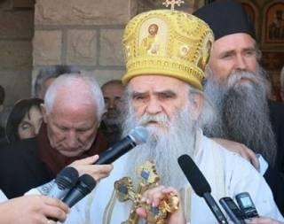 Черногорская полиция задержала священника и прихожан, которые пришли на богослужение