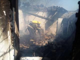 Пожар в Кировоградской области унес жизни трех маленьких детей