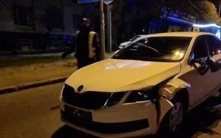 В Киеве полицейский автомобиль насмерть сбил пешехода