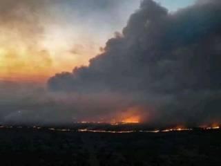 «Апокалипсис» в Чернобыльской зоне: огонь приближается к хранилищам радиоактивных отходов