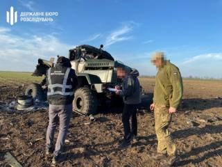На Херсонщине взлетел на воздух грузовик с боеприпасами