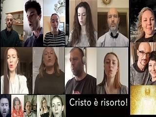 Певчие из разных уголков мира приняли участие в пасхальной онлайн-акции