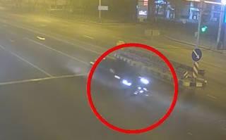 Появилось видео, как BMW сбил малолетнего велосипедиста в Днепре