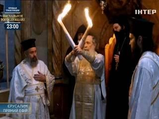 Трансляцию пасхального богослужения посмотрели 6 млн зрителей