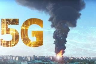 В Нидерландах и Великобритании все чаще сжигают вышки сети 5G