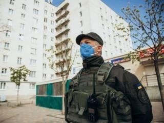 Под Киевом Нацгвардия заблокировала «рассадник» коронавируса