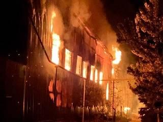 В Одессе ночью горел монастырь УПЦ