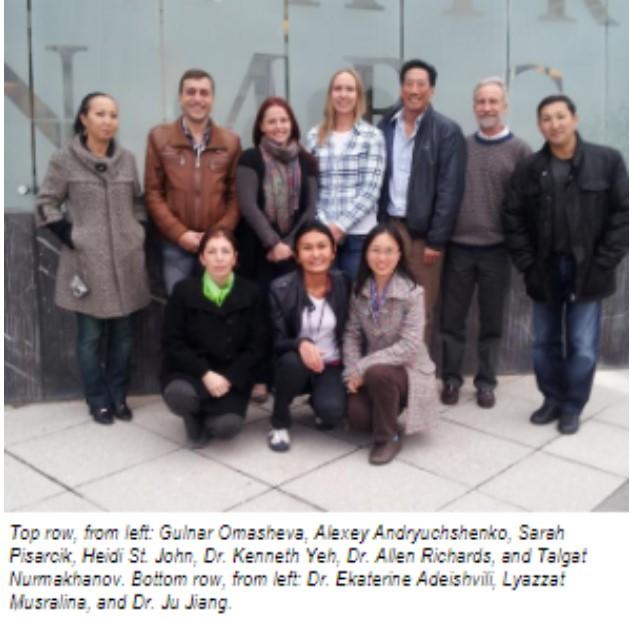 сотрудники биологических лабораторий Казахстана на практике в США