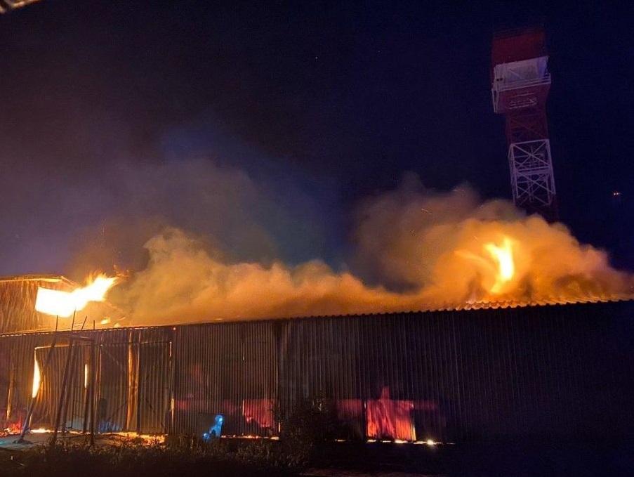 Пожар в монастыре УПЦ в Одессе