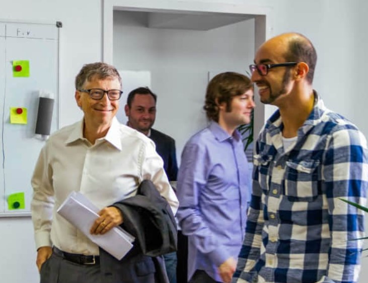 Билл Гейтс и Иджад Мадиш