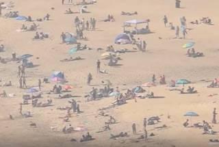 Пляжи во время коронавируса: власти Калифорнии бьют тревогу из-за беспечности местных жителей