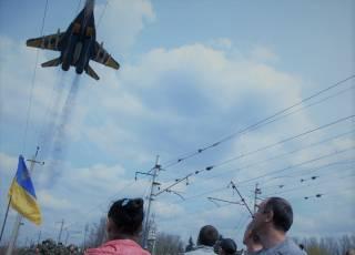 Пилотажная группа «Украинские соколы»