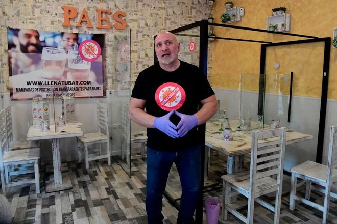 В Испании придумали, как защитить посетителей ресторанов от коронавируса