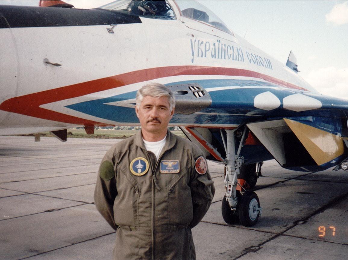 Полковник Сергей Дудкин