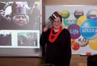 С кастрюлей на голове. Трэш-история Майдана для пятиклассников