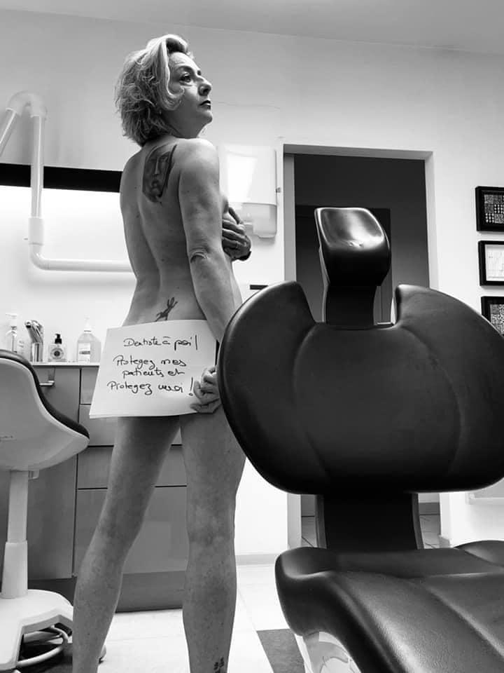 голый протест стоматологов